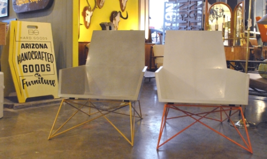 Concrete Chairs by Brandon Gore of Hard Goods + Gore Design Co.