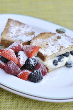 Gluten-Free Stuffed French Toast